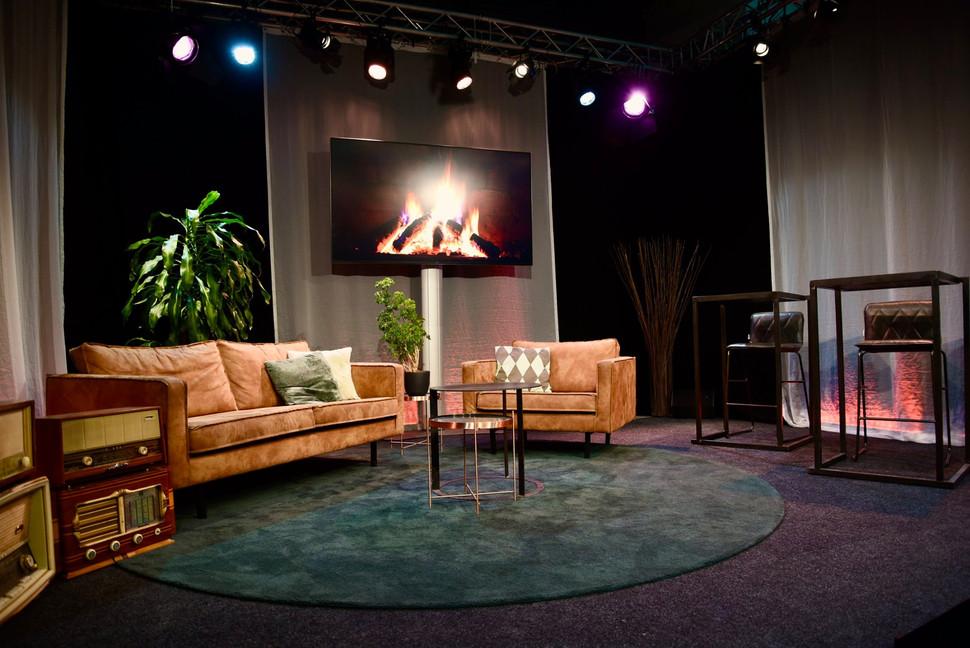 Livestream Studio op locatie
