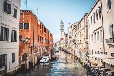 תעלות ברחובות ונציה