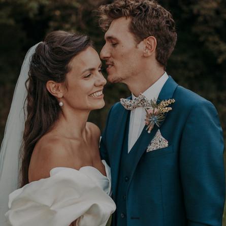 Laure & Lucas | Wedding in Château de Saint-Sixt | France