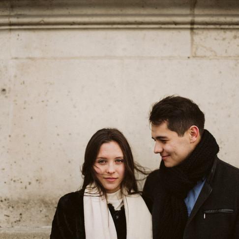 Melissa & Johan   Preboda lluviosa en París