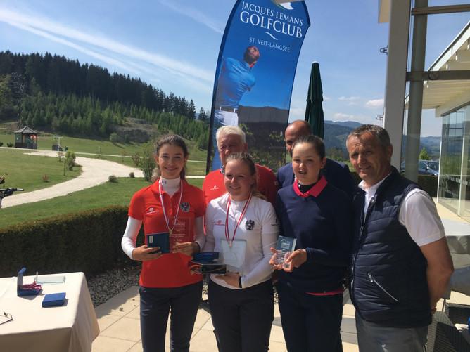 3x 1.Platz bei 2.AJGT & 2. Platz 1.Nürnberger MidAm Golf Tour