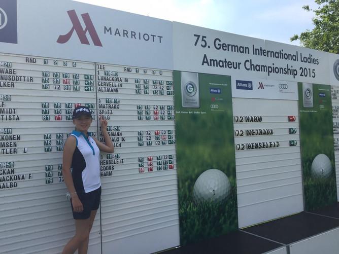 Internationale Amateur Meisterschaft der Damen - GC Mülheim