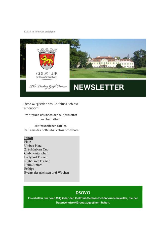5. Newsletter