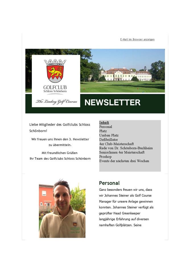 3. Newsletter
