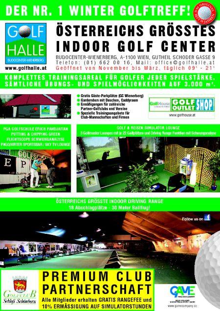 Kooperation Winter-Golf-Halle