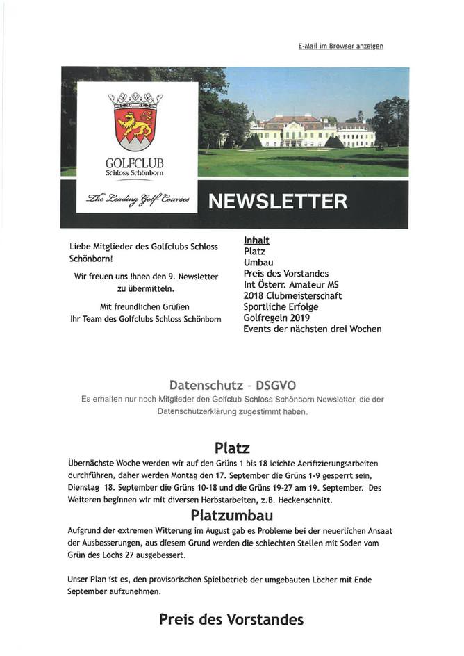 9. Newsletter