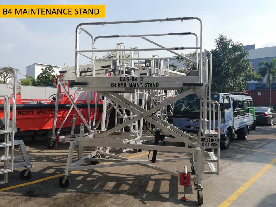 B4 Maintenance Stand