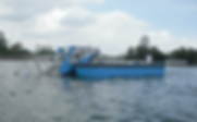 Five aluminium boat, aluminium boat, workboats, aluminium workboat, five aluminium boat, workboat, work boat, river cleaning boat, floatsam collecting boat, weed harvester