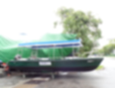 Five aluminium boat, aluminium boat, workboats, aluminium workboat, five aluminium boat, workboat, work boat, boat maintenance , boat refurbishment