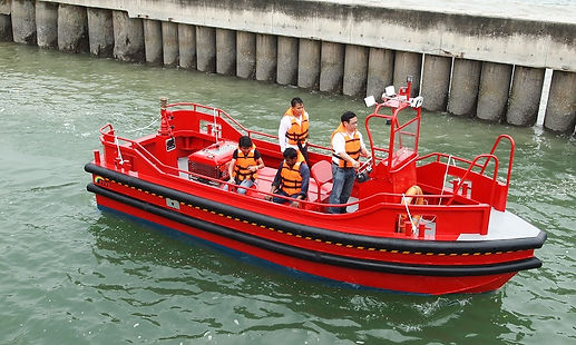 aluminium boat, workboats, aluminium workboat, five aluminium boat, workboat, work boat, fire fighting boat,