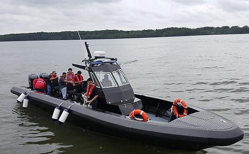 aluminium boat, workboats, aluminium workboat, five aluminium boat, workboat, work boat, patrol boat, patrol craft