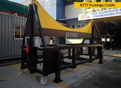 B777 Fuselage Cradle