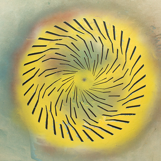 Yellow stencil