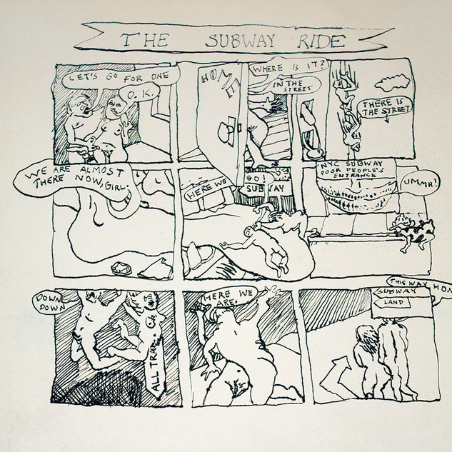 The Subway Ride - comic