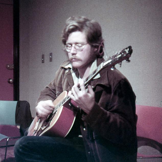 Adam Beckett and guitar