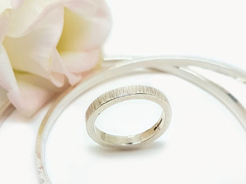 Contemporary Textured Ring