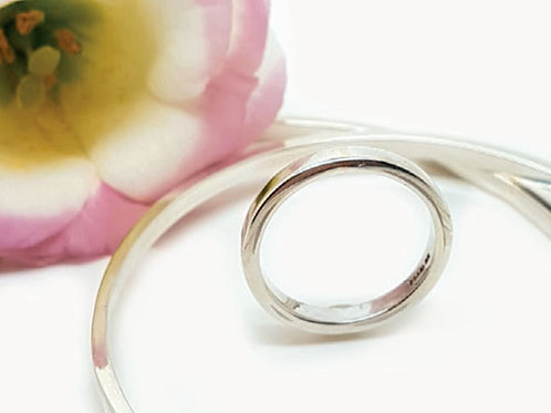 Contemporary Plain Ring