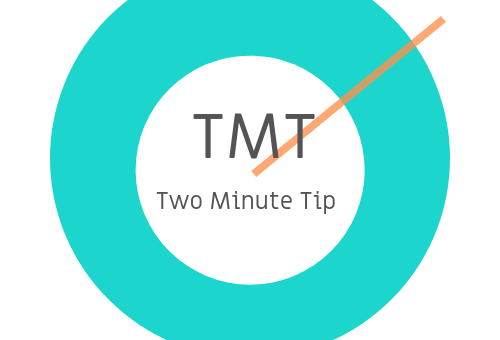 Two Minute Tip #3 - Do your homework
