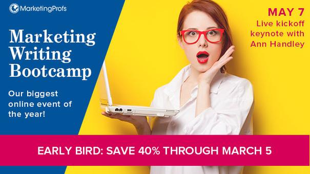 2019 Marketing Writing Bootcamp