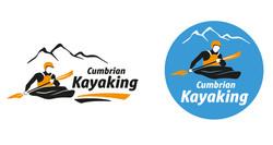 Cumbrian Kayaking - logo design