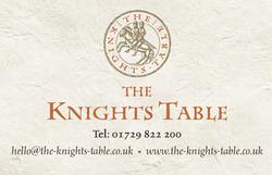 Knights Table BCard