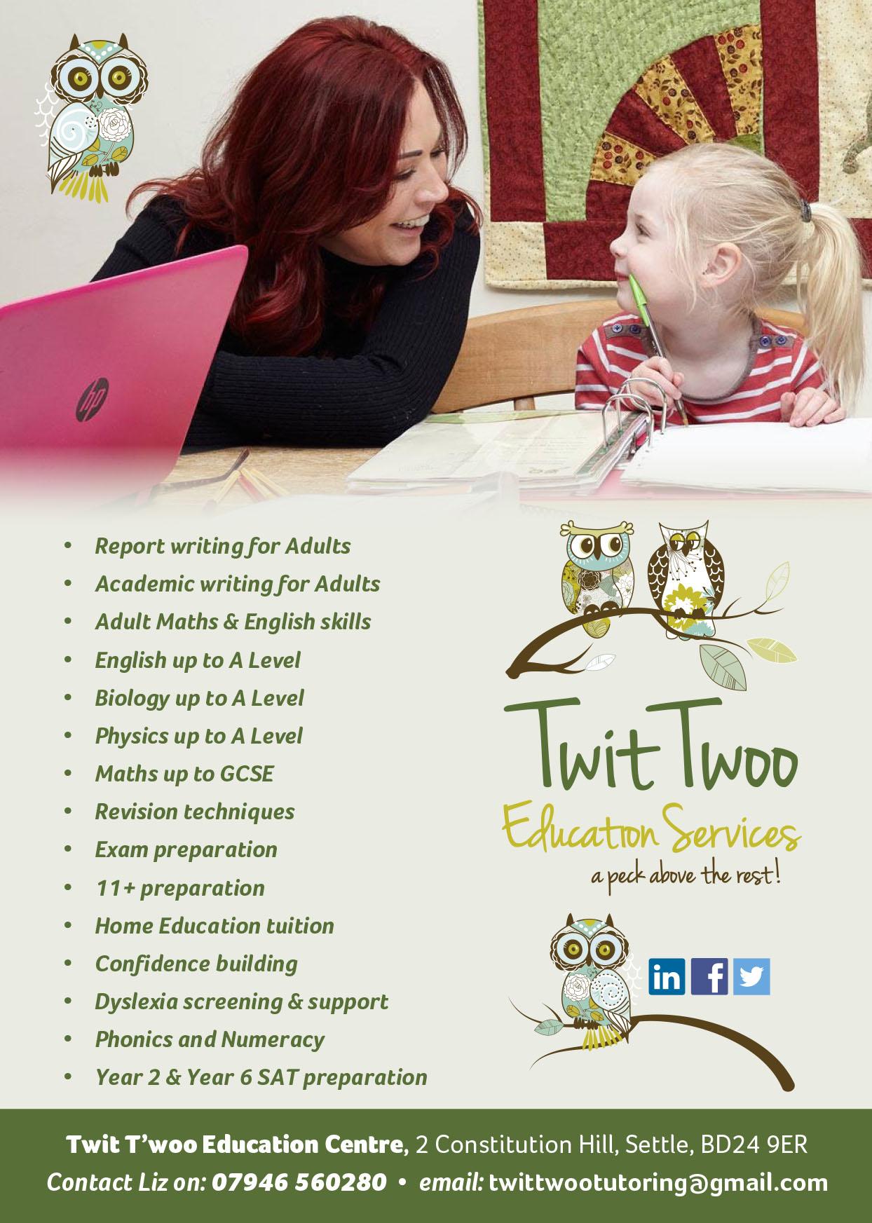 Twit Twoo - postcard design