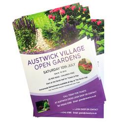 Austwick Gardens Poster
