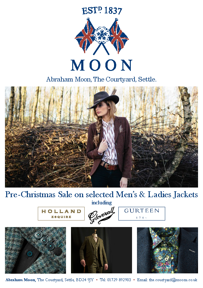Abraham Moon Magazine Advert