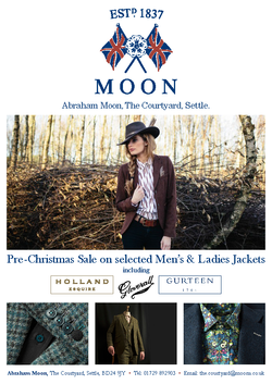 Abraham Moon Magazine Advert