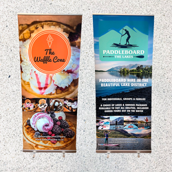 Waffle_Paddleboard Roll-up Banners