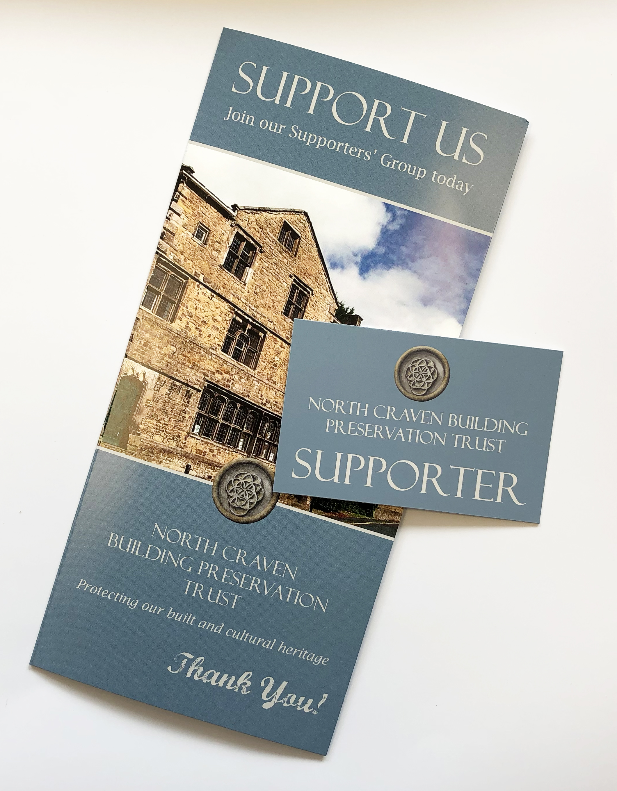 NCHT Supports Cards & Leaflet