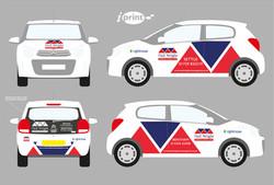 Neil Wright  - car graphic design