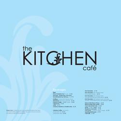 Kitchen Cafe Menu