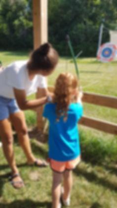 Kids Camp Archery
