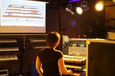 Stephanie in Chordboard Labs