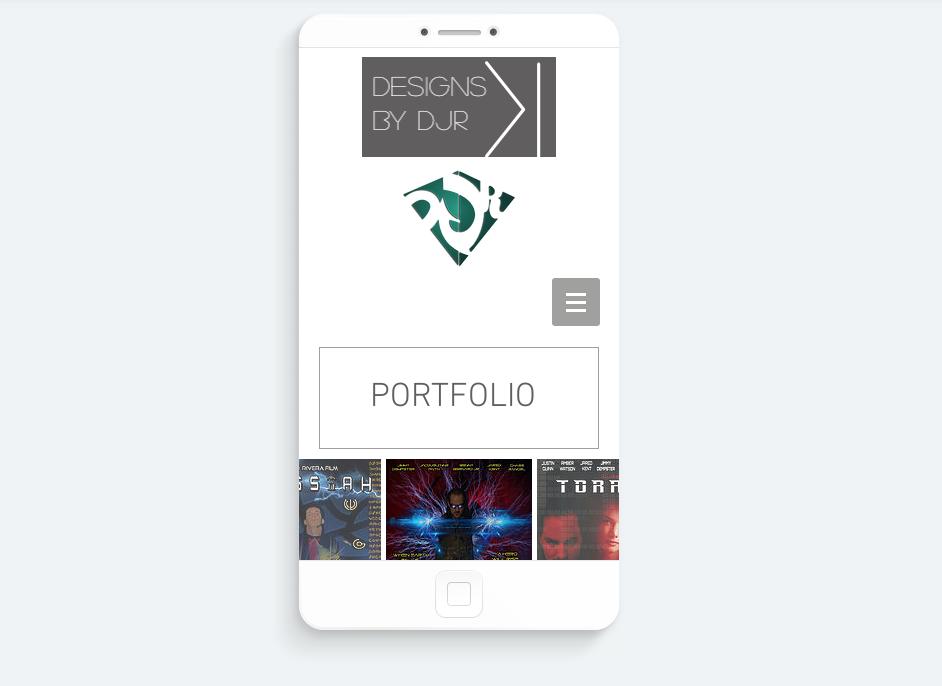 Design Portfolio Site DJR