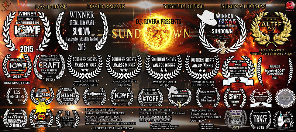 Sundown Award Banner