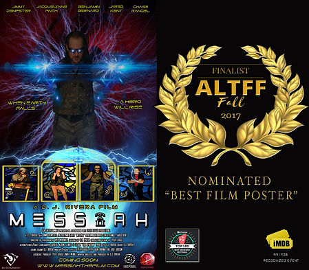 Messiah's Film Poster nominated form Bes Film Poster
