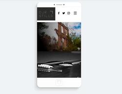 DJR Stills Photography Mobile Site