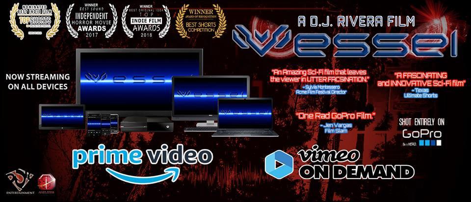 Vessel Short Film Banner