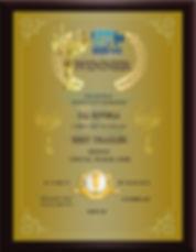 Winner Best Trailer D.J. Rivera