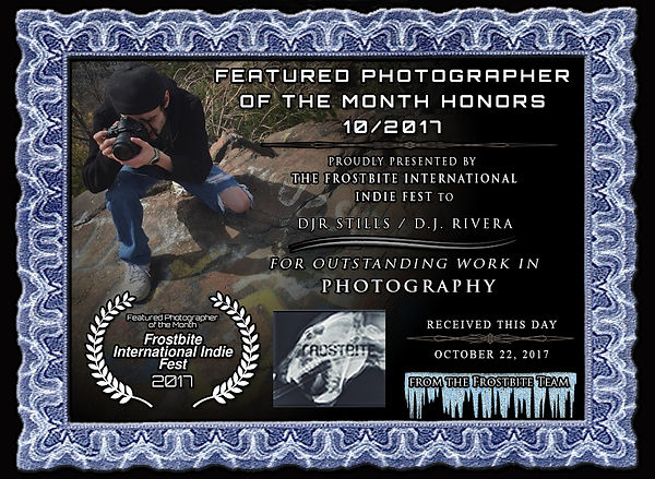 DJR Stills Photographer of the Month
