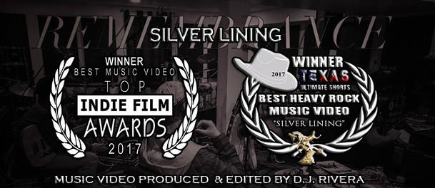 Winner - Best Music Video - Top Indie Film Awards 2017  Winner - Best Heavy Rock Music Video - Texas Ultimate Shorts Film Festival 2017