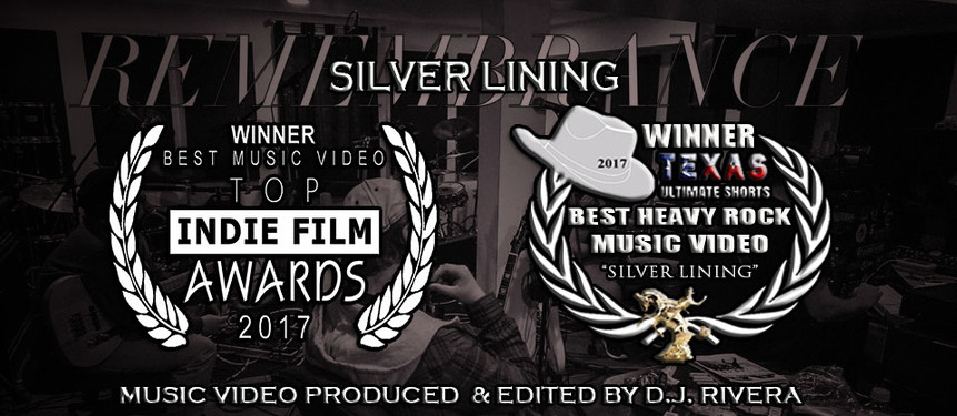Winner - Best Music Video - Top Indie Film Awards 2017  Winner - Best Heavy Rock Music Video - Texas Ultimate Shorts Film Festival 2017