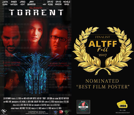 Torrent's Film Poster Nomination For Best Poster