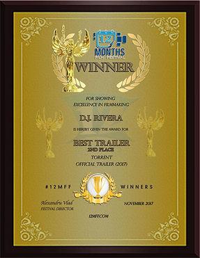 Winner Best Trailer D.J. River