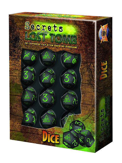 Extra Dice Pack (For Secrets of the Lost Tomb)