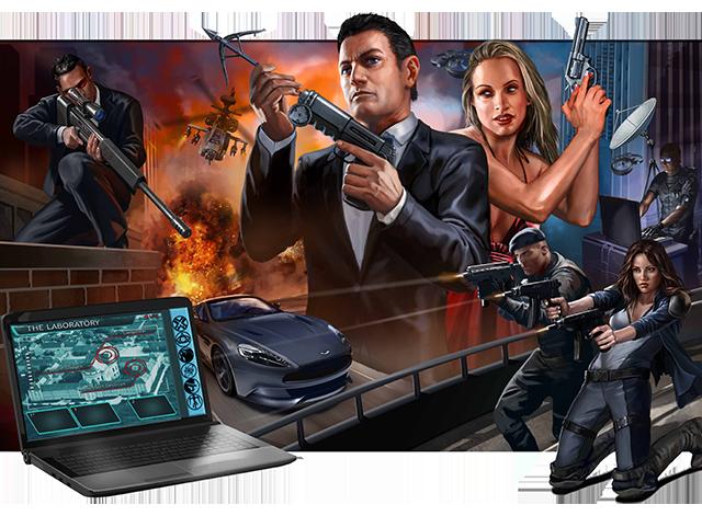 Agents & Operatives original cover