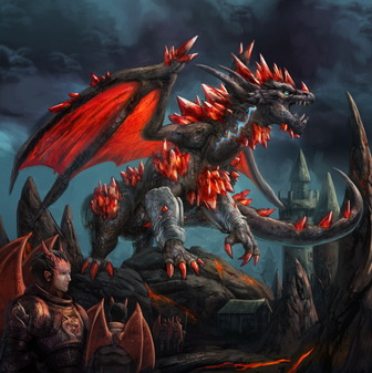 The Ruby Dragon
