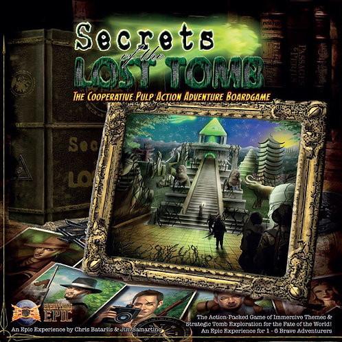Secrets of the Lost Tomb (Core Game 2nd Printing)